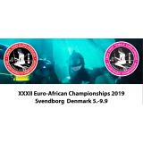 Евро-Африканская чемпионат по подводной охоте 2019 / XXXII Euro-African Championships 2019 Svendborg Denmark 5-9.09